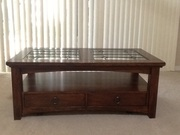 Coffee Table with walnut finish