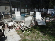 HIGH END TROPITONE PATIO SET 7 PIECES