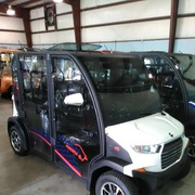 Crown Carts New Electric Golf Cars A/C Heat Sound Systems 352) 399-2804